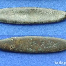 Monedas antiguas de Asia: TAILANDIA - MONEDA BOTE - SIGLOS - XVI - XVII - BRONCE. Lote 96979639