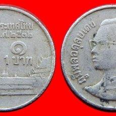 Monedas antiguas de Asia: 1 BAHT 1989 TAILANDIA 2494T COMPRAS DE 40 EUROS ENVIOS GRATIS. Lote 97487119
