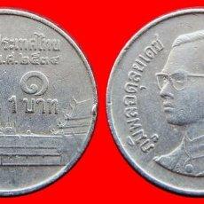 Monedas antiguas de Asia: 1 BAHT 1991 TAILANDIA 2496T COMPRAS DE 40 EUROS ENVIOS GRATIS. Lote 97487587
