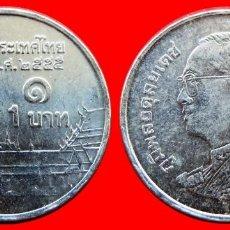 Monedas antiguas de Asia: 1 BAHT 2012 TAILANDIA 2517T COMPRAS DE 40 EUROS ENVIOS GRATIS. Lote 97489103