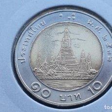 Monedas antiguas de Asia: TAILANDIA 10 BAHT 1989. Lote 99105243