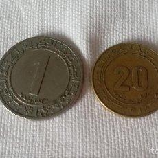Monedas antiguas de Asia: 53-LOTE 2 MONEDAS DE ARGELIA. Lote 99853791
