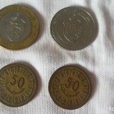 Monedas antiguas de Asia: 48-LOTE 4 MONEDAS DE TUNEZ. Lote 99854203