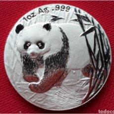 Monedas antiguas de Asia: MONEDA DE CHINA 1 OZ PLATA PURA 2001. Lote 100573538