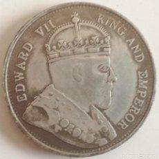 Monedas antiguas de Asia: MONEDA HONG KONG. REY EDUARDO VII. 1 DÓLAR. 1866. RÉPLICA. Lote 101395731