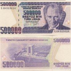Monedas antiguas de Asia: TURQUÍA - 500.000 LIRAS 1998 - CAT. Nº. 212 - VISITA MIS OTROS LOTES Y AHORRA GASTOS DE ENVÍO. Lote 102026219