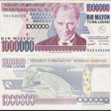 Monedas antiguas de Asia: TURQUÍA - 1.000.000 LIRAS 1993 - CAT.Nº. 209 - VISITA MIS OTROS LOTES Y AHORRA GASTOS DE ENVÍO. Lote 102026459