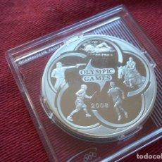 Monedas antiguas de Asia: 100 TENGE KAZAKHSTAN 2007 PLATA 31,1 GR S/C OLYMPIC GAMES . Lote 103870951