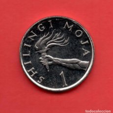 Monedas antiguas de Asia: TANZANIA - 1 SHILLING 1990 SC KM22. Lote 104100651