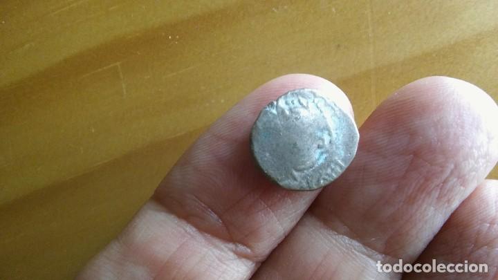 ANTIGUO LINGOTE MONEDA MEDIEVAL PLATA DE LA INDIA (Numismática - Extranjeras - Asia)