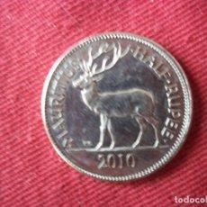 Monedas antiguas de Asia: HALF RUPEE 2010 MAURITIUS. Lote 104825467