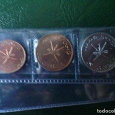 Monedas antiguas de Asia: OMAN LOTE DE 3 MONEDAS DIFERENTES. Lote 105873743
