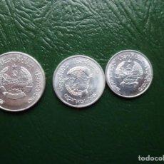 Monedas antiguas de Asia: LAOS LOTE DE 3 MONEDAS DIFERNTES . Lote 163351724