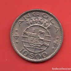Monedas antiguas de Asia: ANGOLA - 10 ESCUDOS 1969 KM79. Lote 105902755