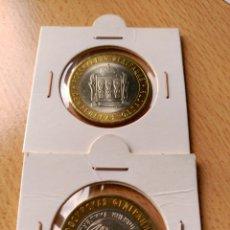 Monedas antiguas de Asia: LOTE 2 MONEDAS RUSIA 10 RUBLOS 2014. Lote 105974778