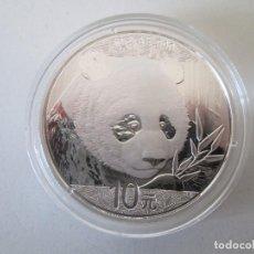 Monedas antiguas de Asia: CHINA * 10 YUAN 2018 * PANDA * 1 ONZA DE PLATA. Lote 106931735