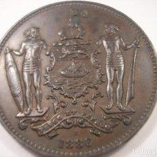Monedas antiguas de Asia: BRITISH NORTH BORNEO 1 CENT 1886 / BORNEO BRITÁNICO 1 CÉNTIMO 1886. Lote 107082003