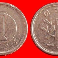 Monedas antiguas de Asia: 1 YEN 1990 JAPON 06719T COMPRAS SUPERIORES 40 EUROS ENVIO GRATIS. Lote 107659563