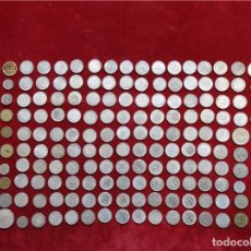 Monedas antiguas de Asia: 190 OLD COINS FROM ALL OVER THE WORLD.COLLECTION OF COLLECTORS. Lote 107825379