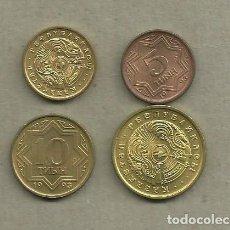Monedas antiguas de Asia: KAZAKHSTAN: 4 MONEDAS DE 4 MODELOS DIFERENTES. Lote 109043443