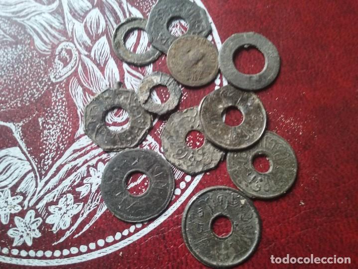 FANTASTICO LOTE DE MONEDAS DEL SULTANATO DE PALEMBANG (Numismática - Extranjeras - Asia)