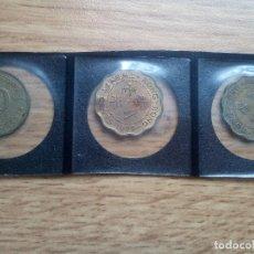 Monedas antiguas de Asia: HONG KONG. 3 MONEDAS DIFERENTES. Lote 112458231