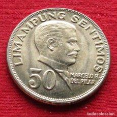 Monedas antiguas de Asia: FILIPINAS PHILIPPINES 50 SENTIMOS 1972 UNC. Lote 131363843