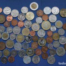 Monedas antiguas de Asia: LOTE DE MONEDAS MUNDIALES VARIADAS CON BASTANTES BIMETALICAS. Lote 114699931