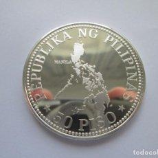 Monedas antiguas de Asia: FILIPINAS * 50 PISO 1976 * PLATA PROOF. Lote 115099127