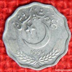 Monedas antiguas de Asia: PAKISTÁN 10 PAISA, 1995. Lote 115445267