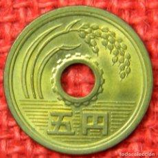 Monedas antiguas de Asia: JAPÓN 5 YENES, 1990-2016. Lote 115445343