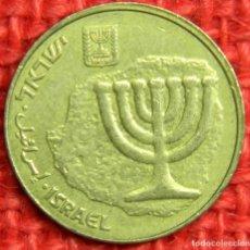 Monedas antiguas de Asia: ISRAEL - 10 AGOROT - 1985-2017. Lote 115455579