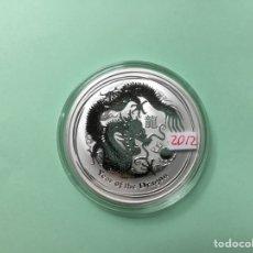 Monedas antiguas de Asia: 26 ) AUSTRALIA 1 DÓLAR 2012 , DRAGÓN, , NUEVA SIN CIRCULAR. Lote 115487022