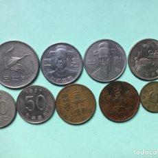 Monedas antiguas de Asia: 141,) KOREA DEL SUR 9 MONEDAS TODAS DISTINTAS FECHAS. Lote 116993739