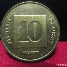 Monedas antiguas de Asia: 10 AGOROT ISRAEL. Lote 117713523