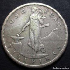 Monedas antiguas de Asia: FILIPINAS (ADMINISTRACION USA) 1 PESO 1907-S SAN FRANCISCO -PLATA-. Lote 117743671