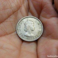 Monedas antiguas de Asia: BORNEO-BRITANICO 10 CTMOS. 1953. Lote 118097879