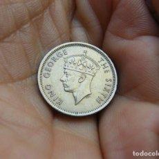 Monedas antiguas de Asia: MALASIA 10 CENTIMOS 1950. Lote 118098555