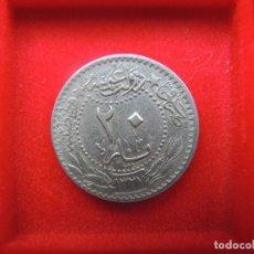 Monedas antiguas de Asia: 20 PARA, TURQUÍA / IMPERIO OTOMANO, MOHAMMED V, 1327 H (1909). Lote 118656579