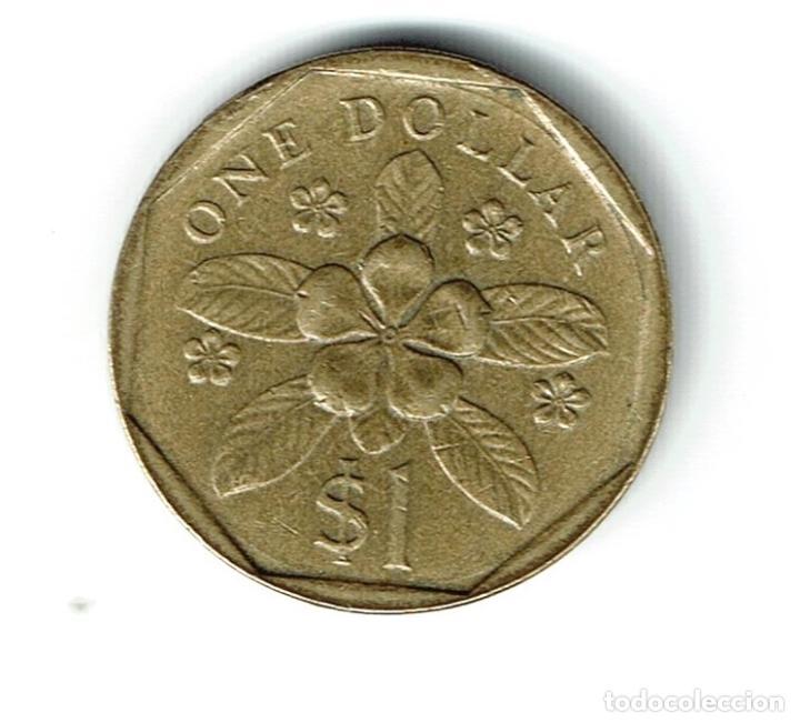 Singapur 1 Dolar 1988 Sungapore 1 Dollar Comprar Monedas Antiguas