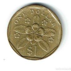 Monedas antiguas de Asia: SINGAPUR 1 DOLAR 1988 SUNGAPORE 1 DOLLAR. Lote 121863391