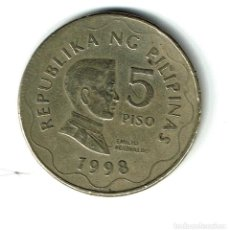 Monedas antiguas de Asia: FILIPINAS 5 PISO 1998. Lote 121883779