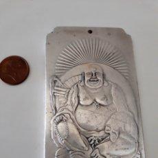 Monedas antiguas de Asia: PRECIOSO LINGOTE DE PLATA TIBETANA DE BUDA. Lote 121916091