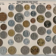 Monedas antiguas de Asia: ISRAEL - PALESTINE 1927 1946 - LIRA 1960 1980 - SHEKEL 1981 1985 - PRUTA 1948 - 1960. Lote 122207139