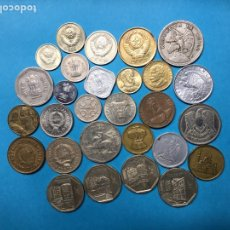 Monedas antiguas de Asia: 538 ) LOTE 30 MONEDAS DE 7 PAÍSES TODAS DISTINTAS FECHAS Y TIPOS EN MUY BUEN ESTADO. Lote 122272791