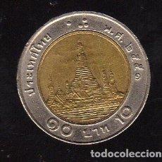 Monedas antiguas de Asia: MONEDA BIMETÁLICA DE TAILANDIA (10 BAHT) - 1996 - . Lote 123720591