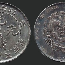 Monedas antiguas de Asia: CHINA - KIANG NAN PROVINCE (GUANGXU JIANGNAN ) 7 MACE & 2 CANDAREENS EARLY 1900S. Lote 124266067