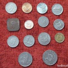 Monedas antiguas de Asia: LOTE DE 14 MONEDAS DE MALASIA Y SINGAPUR.MUY BONITAS... Lote 125065015