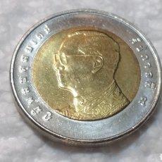 Monedas antiguas de Asia: TAILANDIA 10 BAHT. Lote 125264250