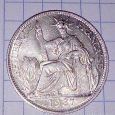 Monedas antiguas de Asia: INDOCHINA. 20 CENTS 1937. PLATA. . Lote 125318439